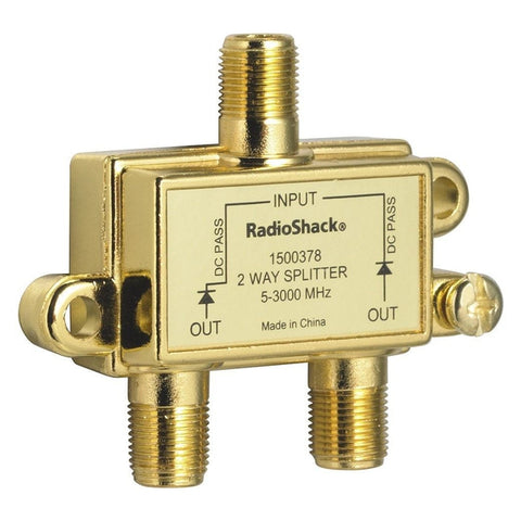 RadioShack 3.0GHz 2-Way Satellite/Broadband Diode Splitter