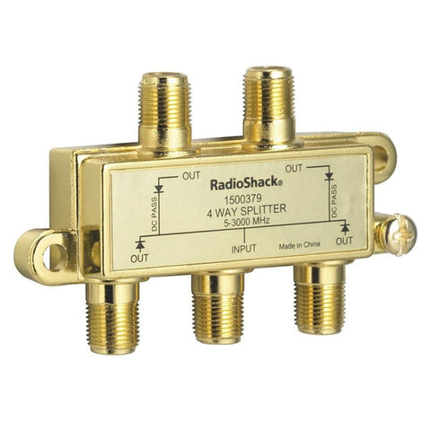 RadioShack 3.0GHz 4-Way Splitter