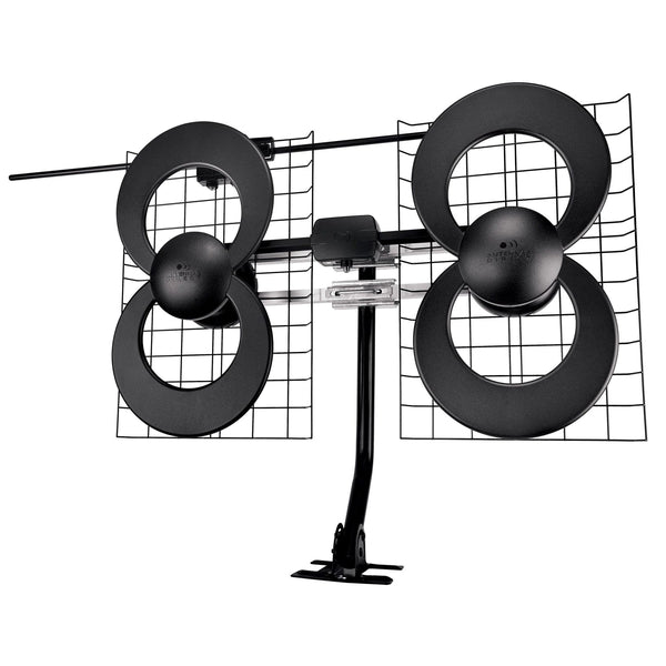 Antennas Direct ClearStream 4V Indoor/Outdoor HDTV Antenna with Mount (70+  Mile Range)