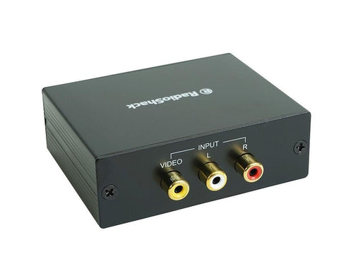 Composite to HDMI Converter Adapter