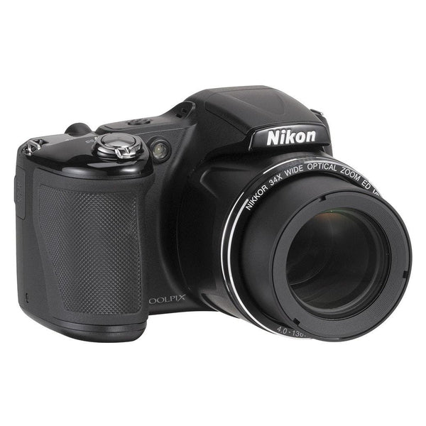 Nikon COOLPIX L830 16.0MP Digital Camera (Black)