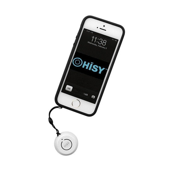 HISY Bluetooth Camera Remote for Apple Devices (White)