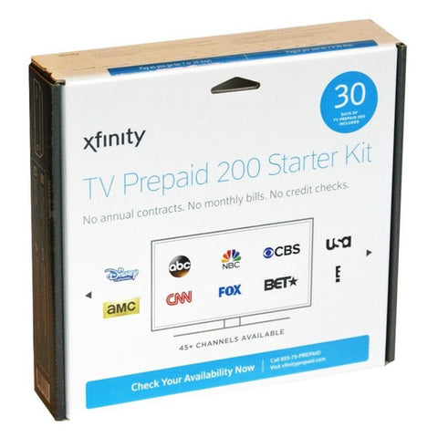 Xfinity Pre-Paid TV HD 450