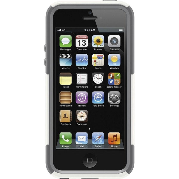 OtterBox Commuter Cell Phone Case Apple iPhone 5 (White)