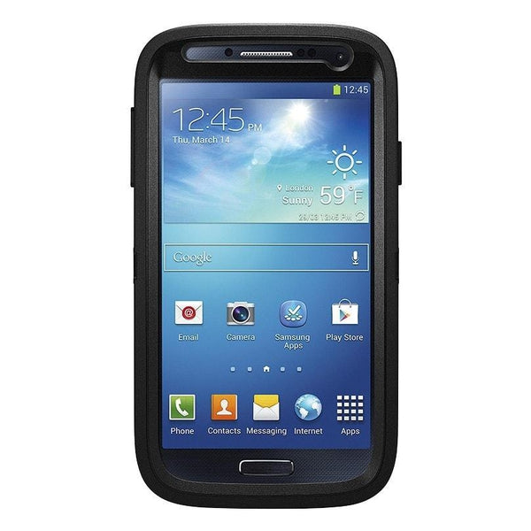 OtterBox Defender Cell Phone Case Samsung Galaxy S4 (Black)
