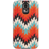 Incipio Feather Case for Samsung Galaxy S5 (Mint/Orange)
