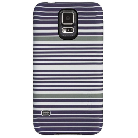 Incipio Feather Case for Samsung Galaxy S5 (Indigo Stripes)