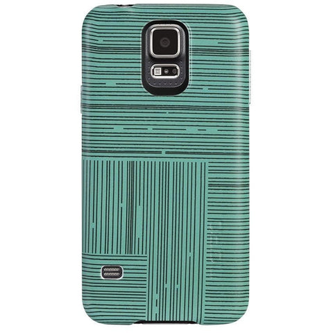 Incipio Feather Case for Samsung Galaxy S5 (Black/Green)