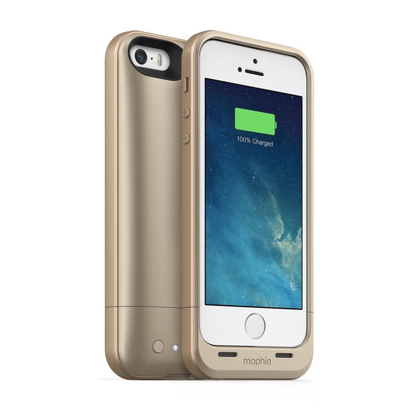 Mophie Juice Pack Air Cell Phone Case Apple iPhone 5S (Gold)