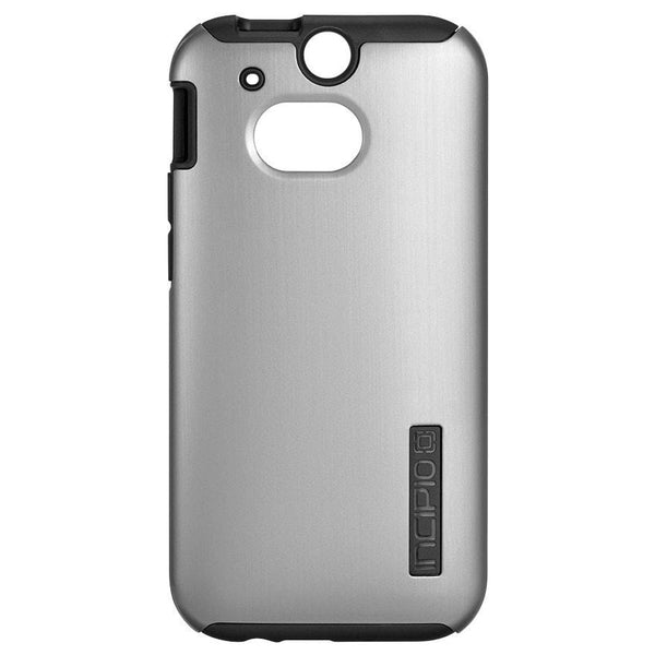 Incipio DualPro SHINE Case for HTC One (M8) (Silver/Black)