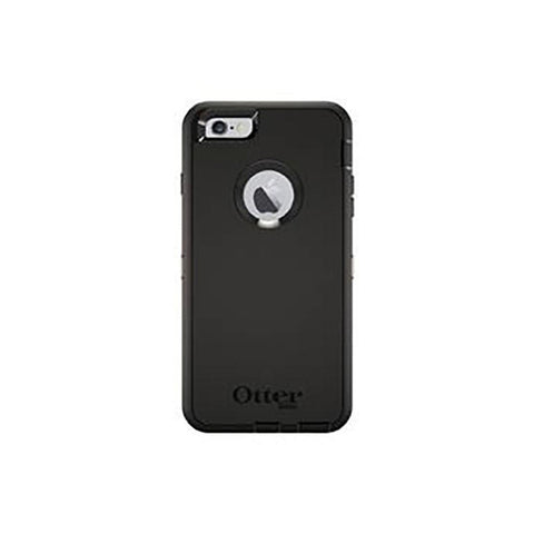 OtterBox Defender Apple iPhone 6 Plus Cell Phone Case (Black)
