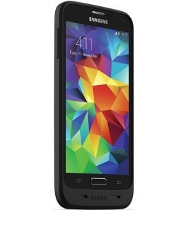 Mophie Juice Pack Air Cell Phone Battery Case Samsung Galaxy S5 (Black)