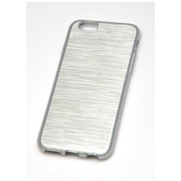 RadioShack Iridescent TPU Cell Phone Case Apple iPhone 6 (Silver)