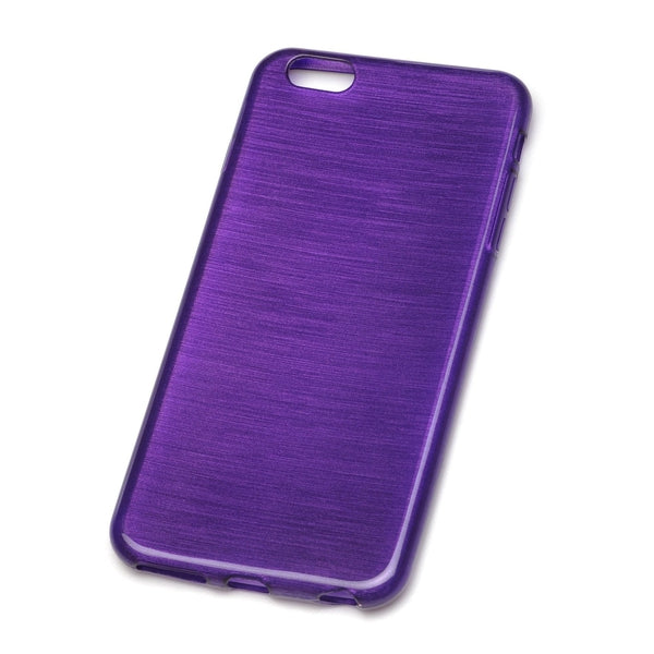 RadioShack Iridescent TPU Cell Phone Case Apple iPhone 6 Plus (Purple)