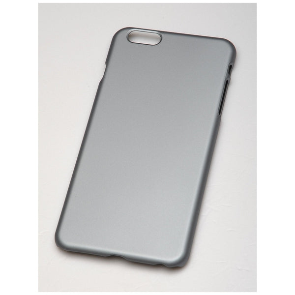 Metallic Snap-On Cell Phone Case Apple iPhone 6 Plus (Gunmetal)