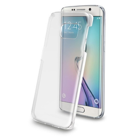 cheaper acbd5 1ef36 Key Hard Shell Cell Phone Case Samsung Galaxy S6 Edge (Clear)