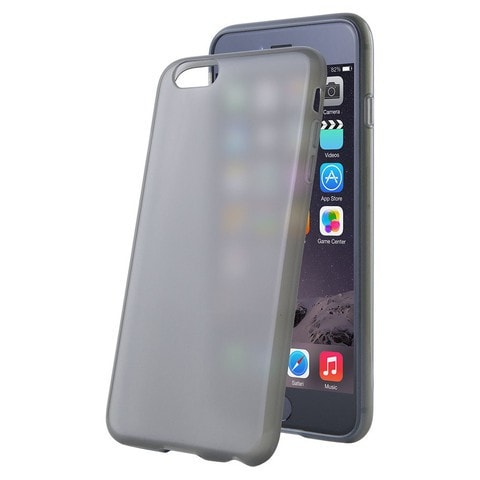 Key TPU Cell Phone Case Apple iPhone 6 Plus (Black)