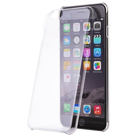 Key Hard Shell Cell Phone Case Apple iPhone 6 Plus (Clear)