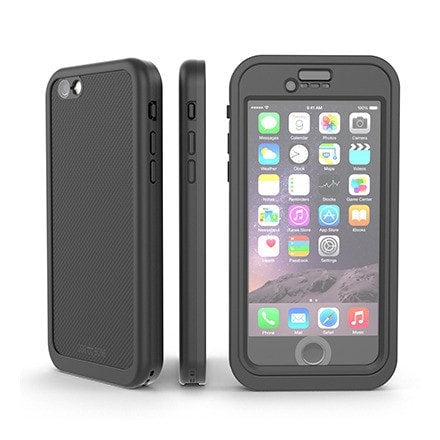 Dog & Bone Wetsuit Cell Phone Case Apple iPhone 6 (Black)