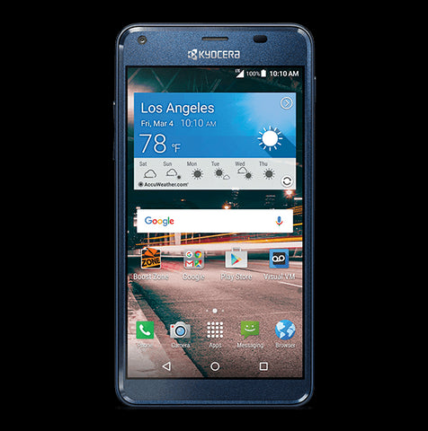Boost Mobile Kyocera Hydro Reach Cell Phone
