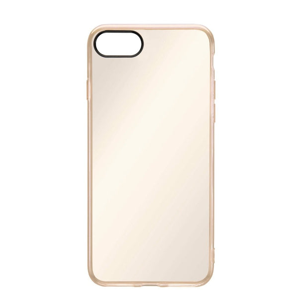 Apple iPhone 8/7 Cell Phone Case (Clear Gold)