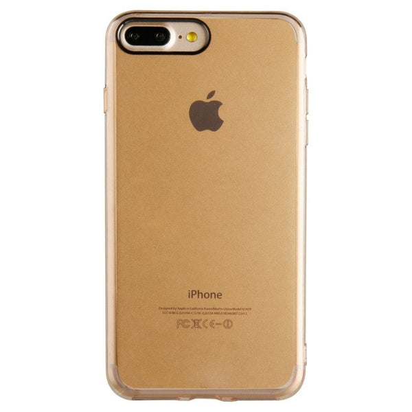RadioShack Apple iPhone 7 Plus Cell Phone Case (Clear Gold)