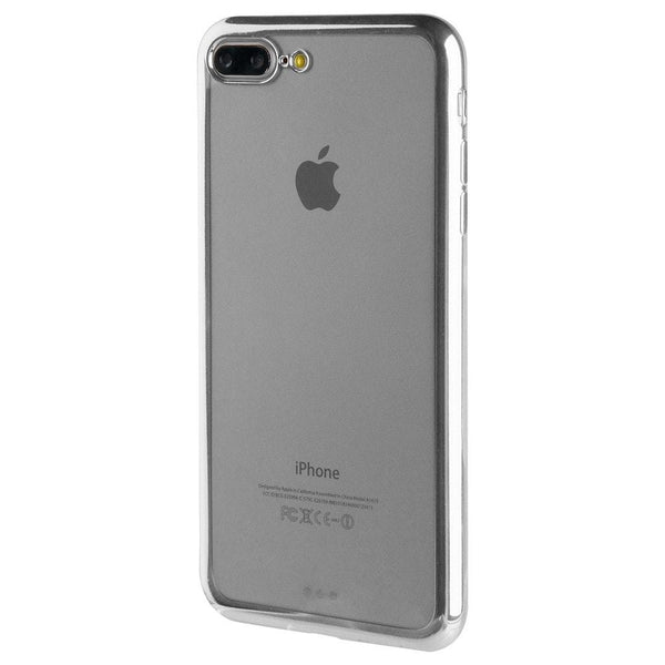 Apple iPhone 8 Plus/7 Plus Cell Phone Case (Silver)