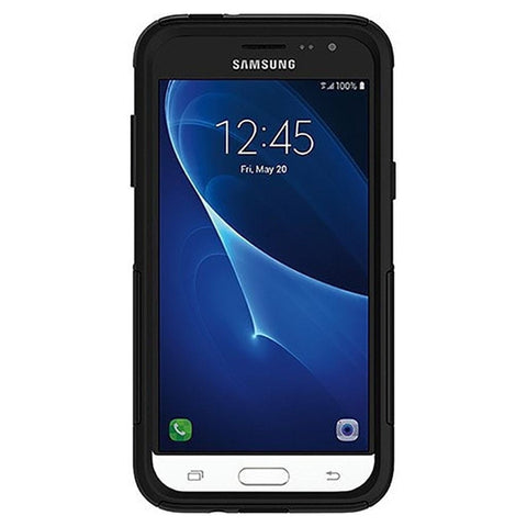 OtterBox Commuter Samsung Galaxy J3 Cell Phone Case (Black)