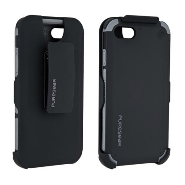 PureGear DualTek Hip Apple iPhone 8/7 Cell Phone Case (Black)