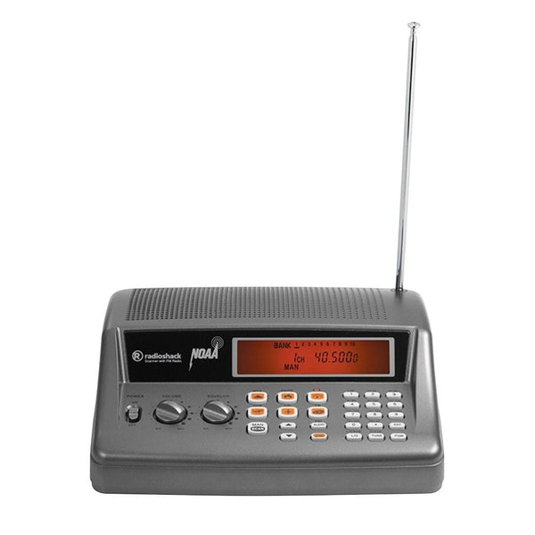RadioShack PRO-650 200-Channel Desktop Radio Scanner
