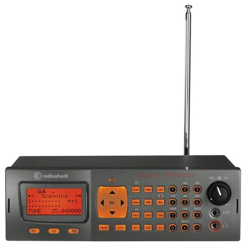 RadioShack PRO-652 Desktop Digital Radio Scanner