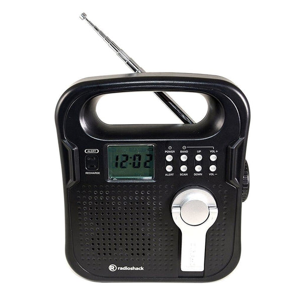 RadioShack AM/FM/Weather band Portable Crank Radio