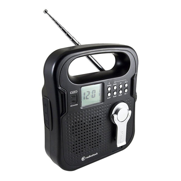 AM/FM/Weather band Portable Crank Radio