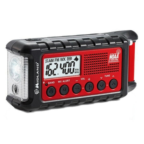 Midland Weather Alert Digital Emergency Crank Radio