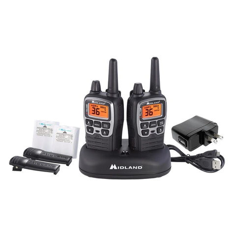 Midland 36-Mile GMRS 2-Way Radios