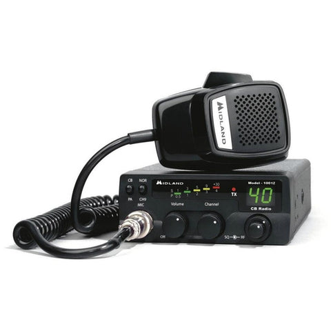 Midland 1001Z 40 Channel 4 Watt CB Radio