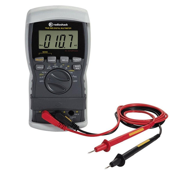True Rms Meter : True rms range digital multimeter
