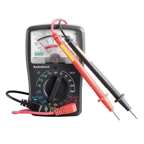 RadioShack 17-Range Analog Multimeter