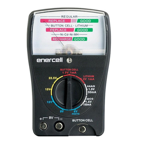 Enercell 9-Range Analog Battery Tester