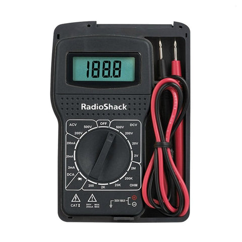 RadioShack 15-Range Digital Multimeter