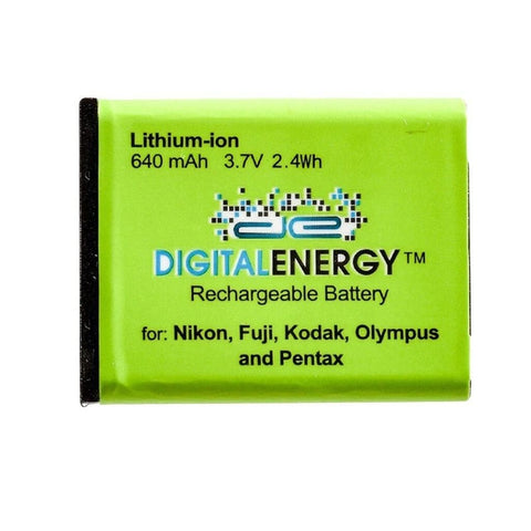 Digital Energy Nikon ENEL10 3.7V/580mAh Lithium-Ion Battery