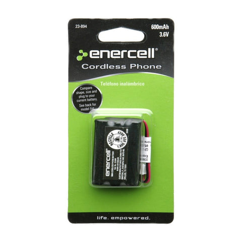 Enercell 3.6V/600mAh NI-MH Cordless Phone Battery