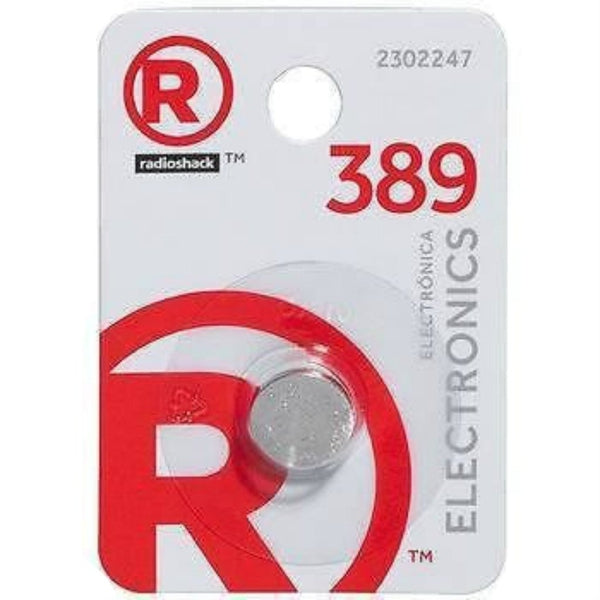 RadioShack 389 Button Cell Battery