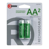 AA Rechargeable Batteries (2-Pack)
