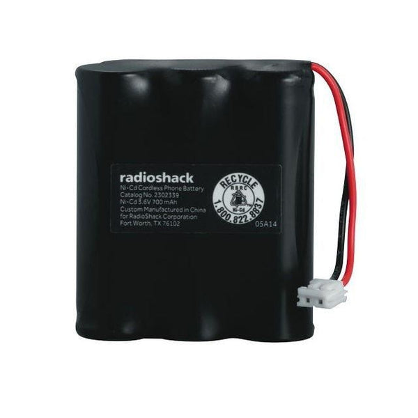 RadioShack Cordless Phone Battery 3.6V/700mAh Ni-Cd for AT&T V-Tech & RadioShack