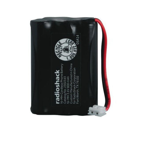 RadioShack 3.6V/800mAh Ni-MH Cordless Phone Battery for Thompson GE
