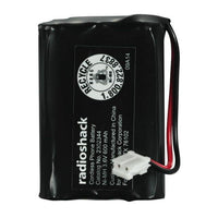 RadioShack 3.6V/600mAh Ni-MH Cordless Phone Battery 3xAAA Size for GE RCA & Clarity Phones