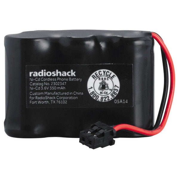 RadioShack 3.6V/350mAh Ni-Cd Cordless Phone Battery