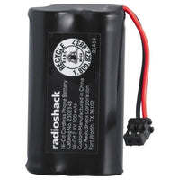 RadioShack Cordless Phone Battery 2.4V/700mAh Ni-Cd Uniden EXP370 371 4540