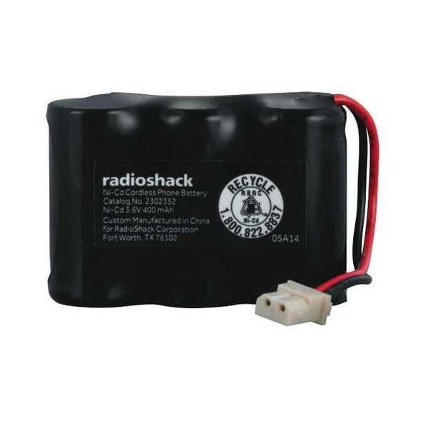 RadioShack Cordless Phone Battery 3.6V/400mAh Ni-Cd for VTech BT17333
